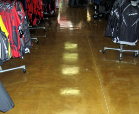 4001 Water base Clear Epoxy Decorative Concrete Commercial and Retail Floor Coating