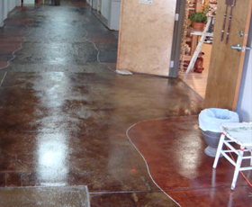 4001 Water base Clear Epoxy Decorative Concrete Commercial and Retail Flooring Sealer