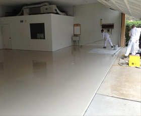 4195 Direct to Concrete Pigmented Epoxy Concrete Garage and Industrial and Commercial Flooring
