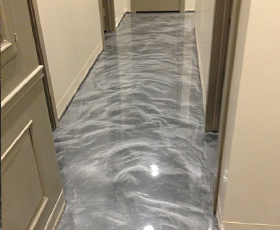 New 4800 Hd Epoxy Works Great With Metallic Lava Flow