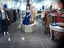 Retail Clothing Store Metallic Floor Coating