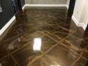 Decorative Concrete Lobby for a Hotel or Apartment Complex