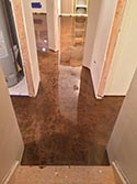 Basement Glossy Concrete Flooring