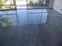 Silver Lava Flow Metallic Floor Coating