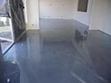 Grey and White Metallic Decorative Epoxy Coating