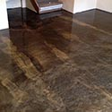 Beige Metallic Floor Finish