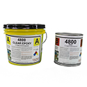 4800  Industrial 100% Solids Epoxy Flooring