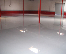4800 100% Solids Commercial Epoxy Floor Coating for Concrete Floors