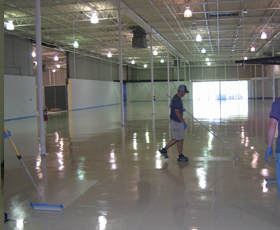 4800 100% Solids Residential Epoxy Floor Coating for Concrete Floors