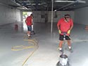 Men Installing an Industrial Concrete Epoxy Floor Coating