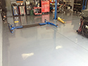 Workshop with Epoxy Garage Floor