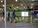 Epoxy Floor Coating Mid-Installation