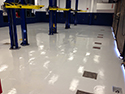 Auto Service Center with Concrete Epoxy Floors