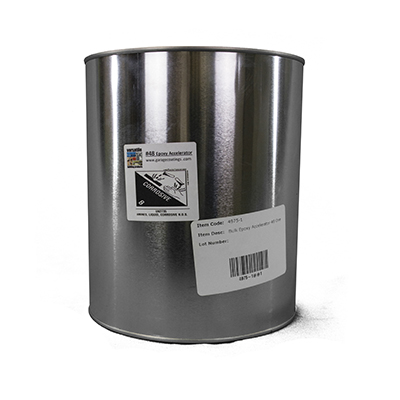 Epoxy Accelerator 48 1- Gal Bulk Pack for use with 4800 Industrial Flooring Epoxy
