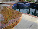 """Outdoor Concrete Countertop by Pool"""""""