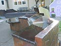 Outdoor Grill with Sealed Concrete Counters 2