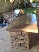 Sealed outdoor Dining Area