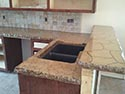 iled Concrete Counters for Cooking Area 2