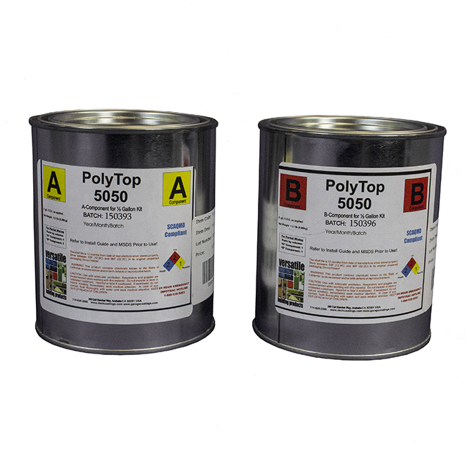 Countertop Paint Sealer : 5050 Polyurea Concrete Counter Sealer GarageCoatings.com ...