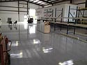 Warehouse Clear Polyurea Flooring