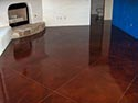 Home Interior Clear Seal on Living Room Floor