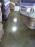 Glossy Finish for Commercial Space