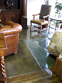 Concrete Floor Seal for Living Room