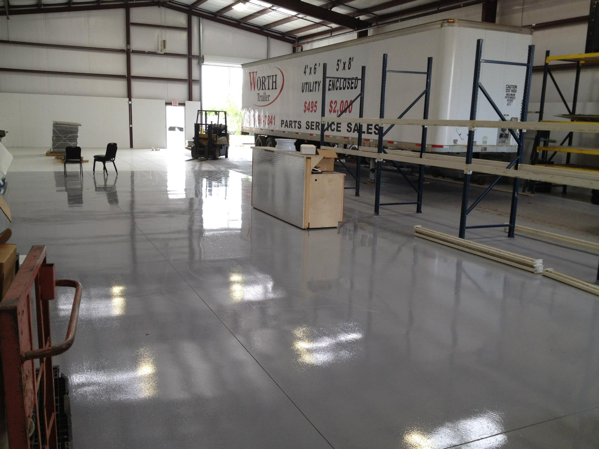5120 Pigmented Polyaspartic Flooring Now Available In 3