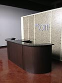 Topcoat Sealer for Front Desk Area