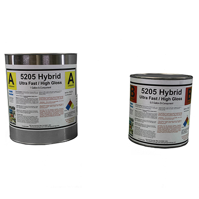 5205 Hybrid Ultra Fast Drying Flooring Primer-Clear Seal Topcoat