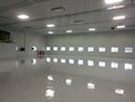 Industrial Facility Concrete Floor with Coating