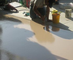Chemical Resistant Pigmented Urethane Flooring Sealer and Coating