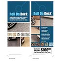 Roll On Rock Door Hangers 16 pt cardstock
