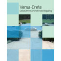 Versa-Crete  Microtopping 4 page brochure