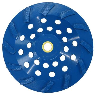 "7"" x 12 Segments Diamond Cup Wheel Threaded"