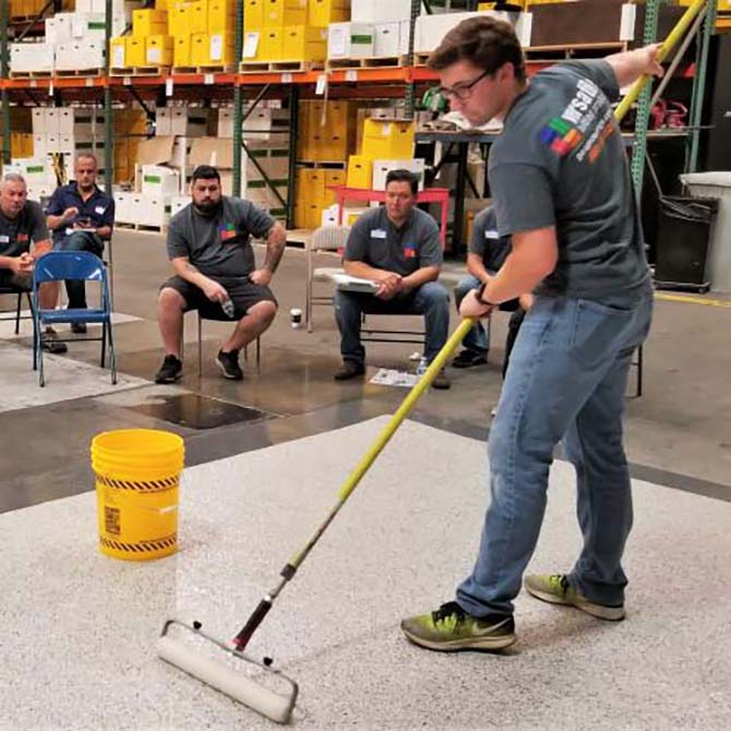 Flooring Basics - 1-Day Training | GarageCoatings com