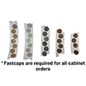 Fastcaps for Cabinets