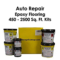 Auto Repair Epoxy Flake Flooring System Kit