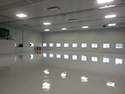 High Gloss Flooring with Reflection from Windows 2