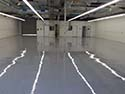 White Direct-to-Concrete Epoxy with High-Gloss Topcoat