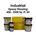 Industrial Floor Epoxy Flake Flooring System Kit