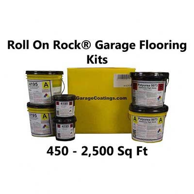 Roll On Rock®  Epoxy Garage Flooring & Coating System