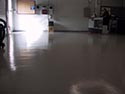 Garage with Epoxy Flake Flooring