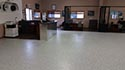 Dealership Sales Floor with Epoxy Flake Flooring