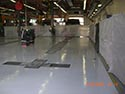 Industrial Area with Epoxy Floor Coating