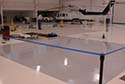 Aircraft Hangar During Epoxy Floor Installation