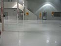 Empty Room with Epoxy Concrete Floor