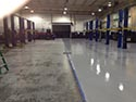 Newly Installed Epoxy Floor Coating