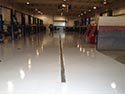 Large Auto Service Area with Concrete Floor Coating