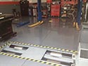 Workshop with Concrete Epoxy Floor